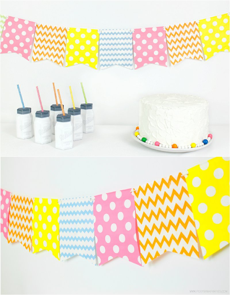 DIY party decor via BirdsParty.com @birdsparty