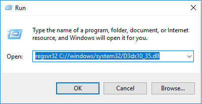 Télécharger D3dx10_35.dll Fichier Gratuit Installer