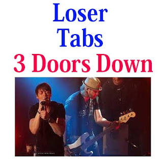 Loser Tabs 3 Doors Down. How To Play Loser Chords And Sheet On Guitar Online
