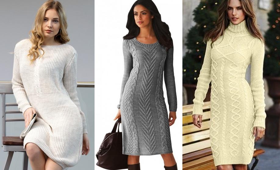 d38cfd30bf Sweter stanowią świetną inspirację dla sukienek. Osobiście uwielbiam  sukienki sweterkowe