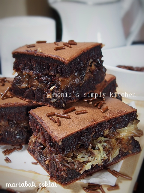 cara membuat martabak teflon coklat