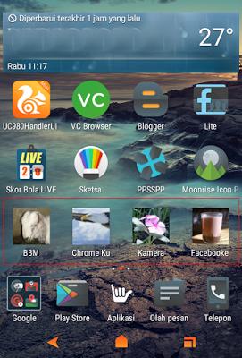 Cara mudah mengganti icon aplikasi di smartphone Android