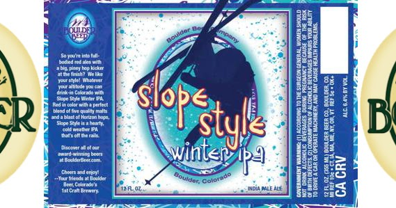 Boulder Beer slides into Winter with Slope Style Winter IPA