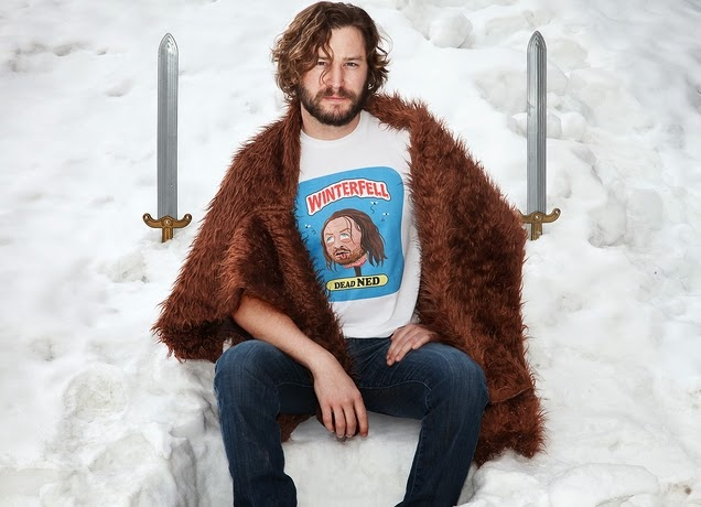 "Game of Thrones x Garbage Pail Kids ""Dead Ned"" T-Shirt by Threadless"