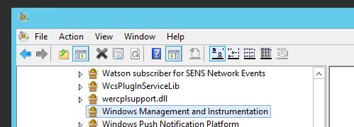 Setting static/fixed WMI port in Windows 2012 R2 | Tech Boredom