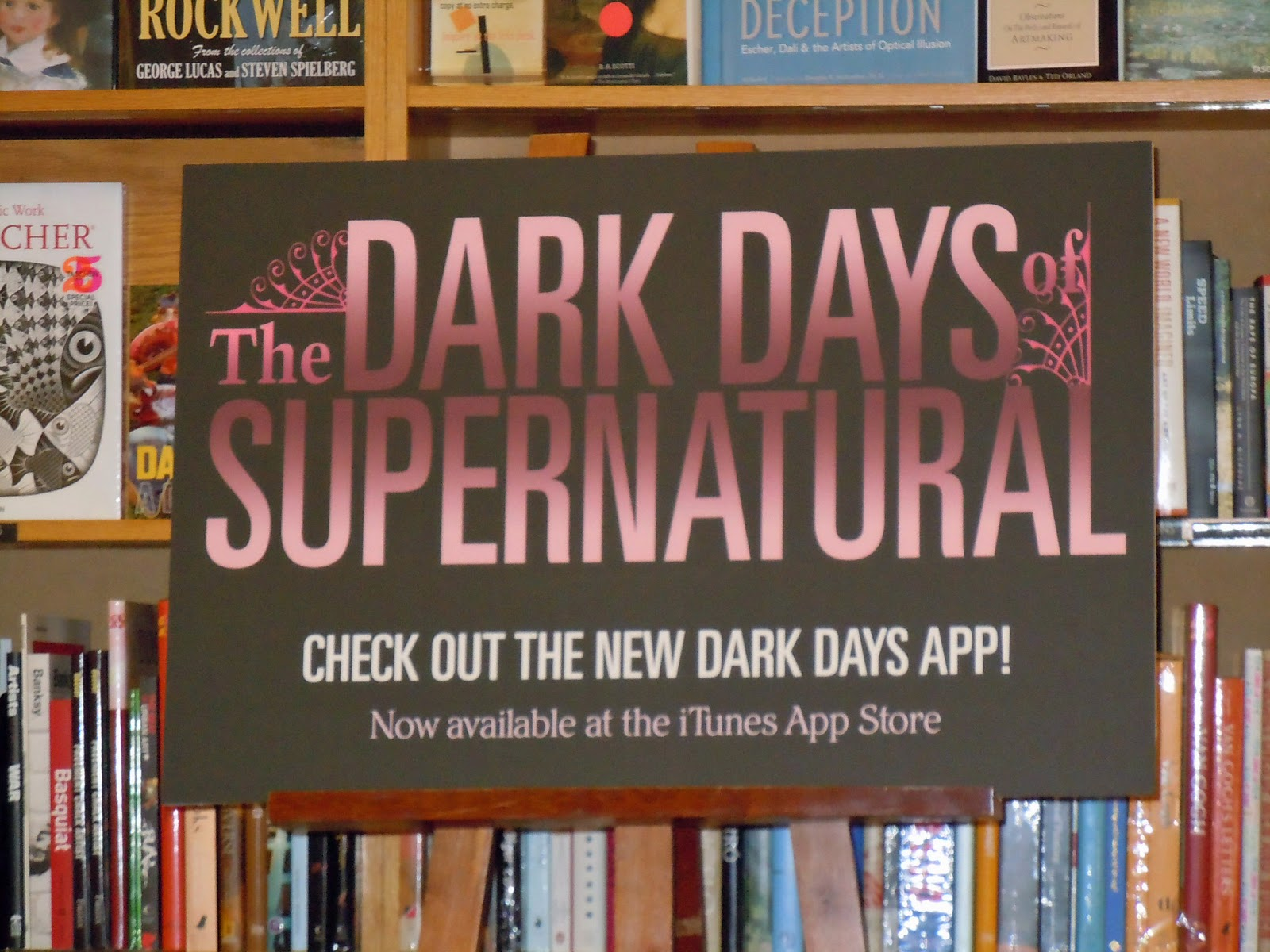 Dark Days of Supernatural Signing: Lansing