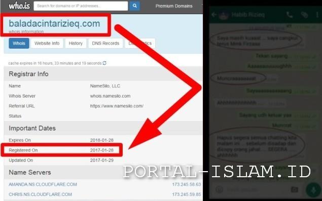 MENGEJUTKAN! Hasil Analisa AHLI DIGITAL FORENSIK Chat HRS-FH