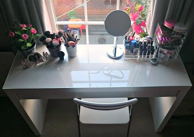 Makeup Table Storage Mummy' Beauty Corner