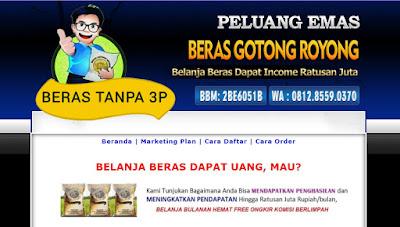 Jasa Blog Beras Gotong Royong
