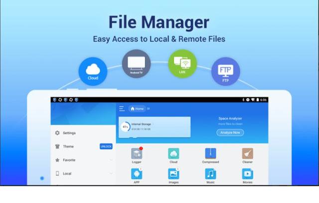 Aplikasi Manajer Berkas ES File Explorer APK Android