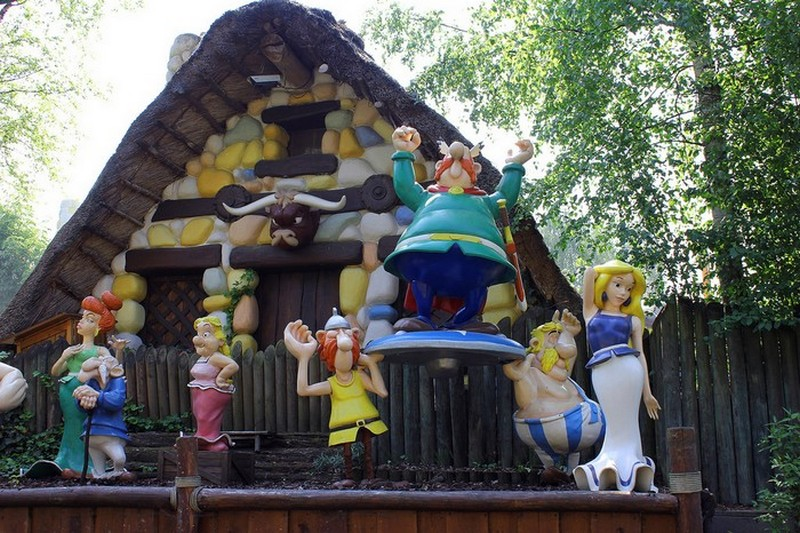 Le Parc Astérix (60)