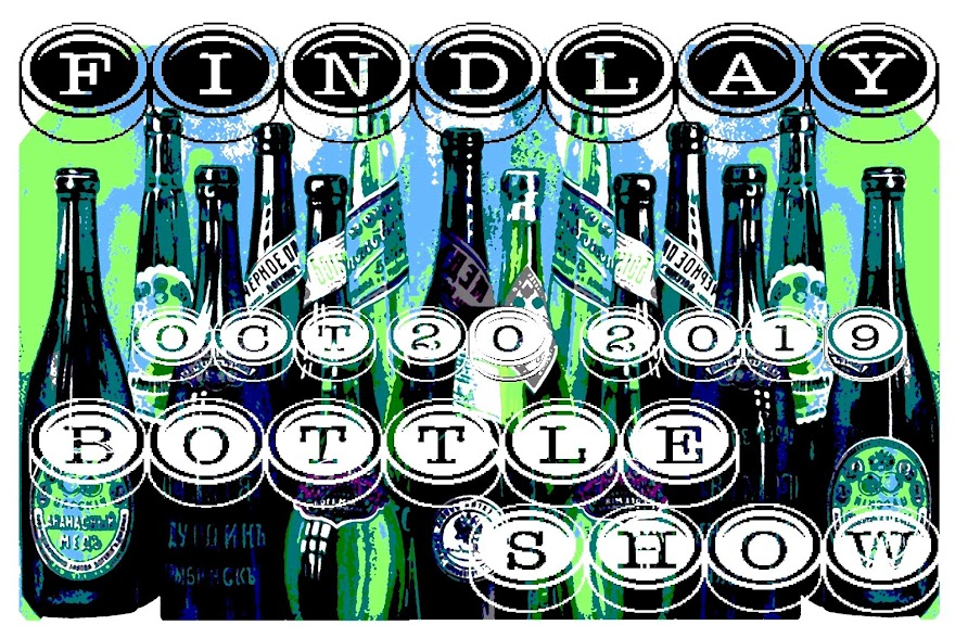 Findlay Bottle Show - Findlay Bottle Club - Ohio - Antique Bottles