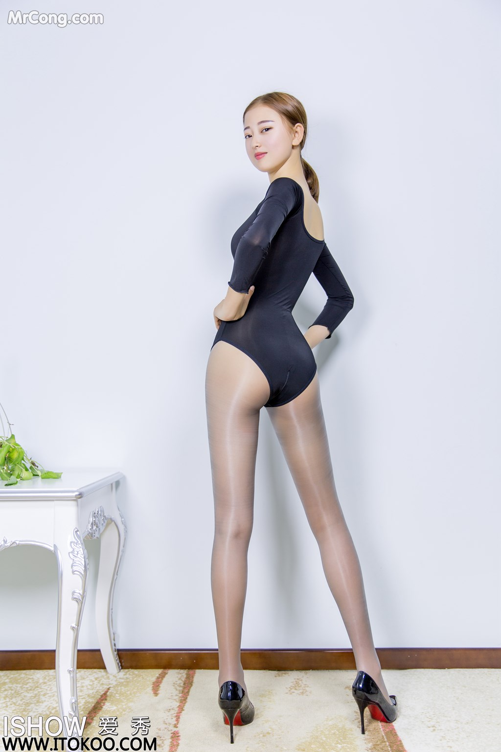 Image ISHOW-No.151-Han-Zhi-Ying-Flora-MrCong.com-007 in post ISHOW No.151: Người mẫu Han Zhi Ying (寒栀樱Flora) (31 ảnh)