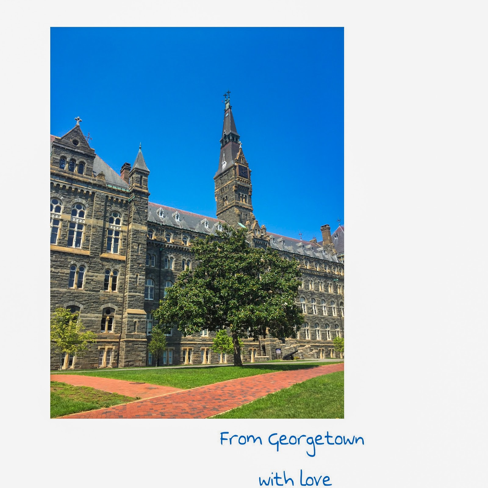 FIRST WEEK GEORGETOWN EXPERIENCE: THOSE WHO WANDER ARE LOST!
