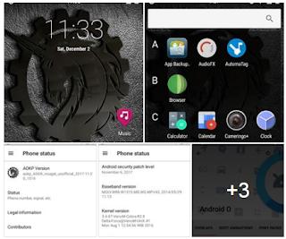 Rom AOKP android7.1.2 Nougat Mt6572 Lenovoa369i | SegalaReview|DowloadPro|FullVersion