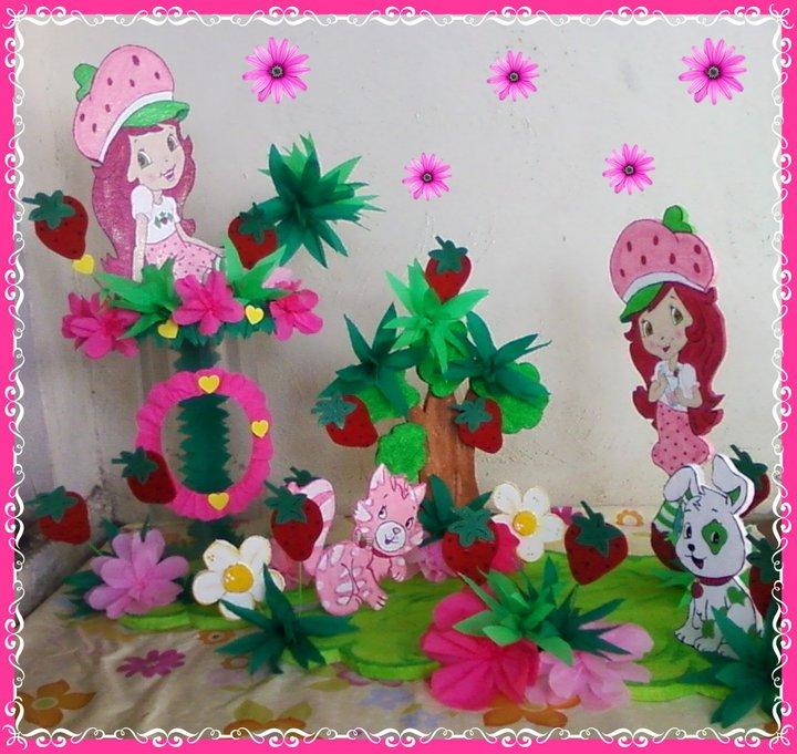 decoraciones infantiles flores y mariposas