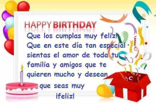 Palabras para desear un buen día de cumpleaños a alguien especial