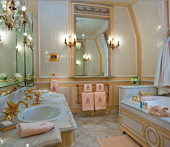 Coco Chanel hotel suite bathroom at the Ritz. 30 something urban girl  Tuesday Hues   Coco Chanel  39 s hotel suite