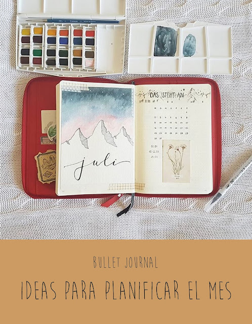 Bullet journal: Ideas para planificar tu mes