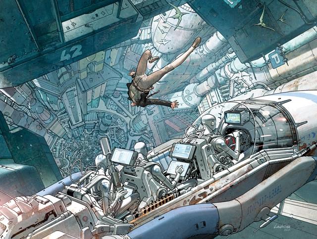 Incal es el mejor cómic bande dessinee de cyberpunk