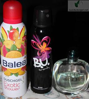 B.U. Trendy Balea gel dus parfum Acqua di Goia