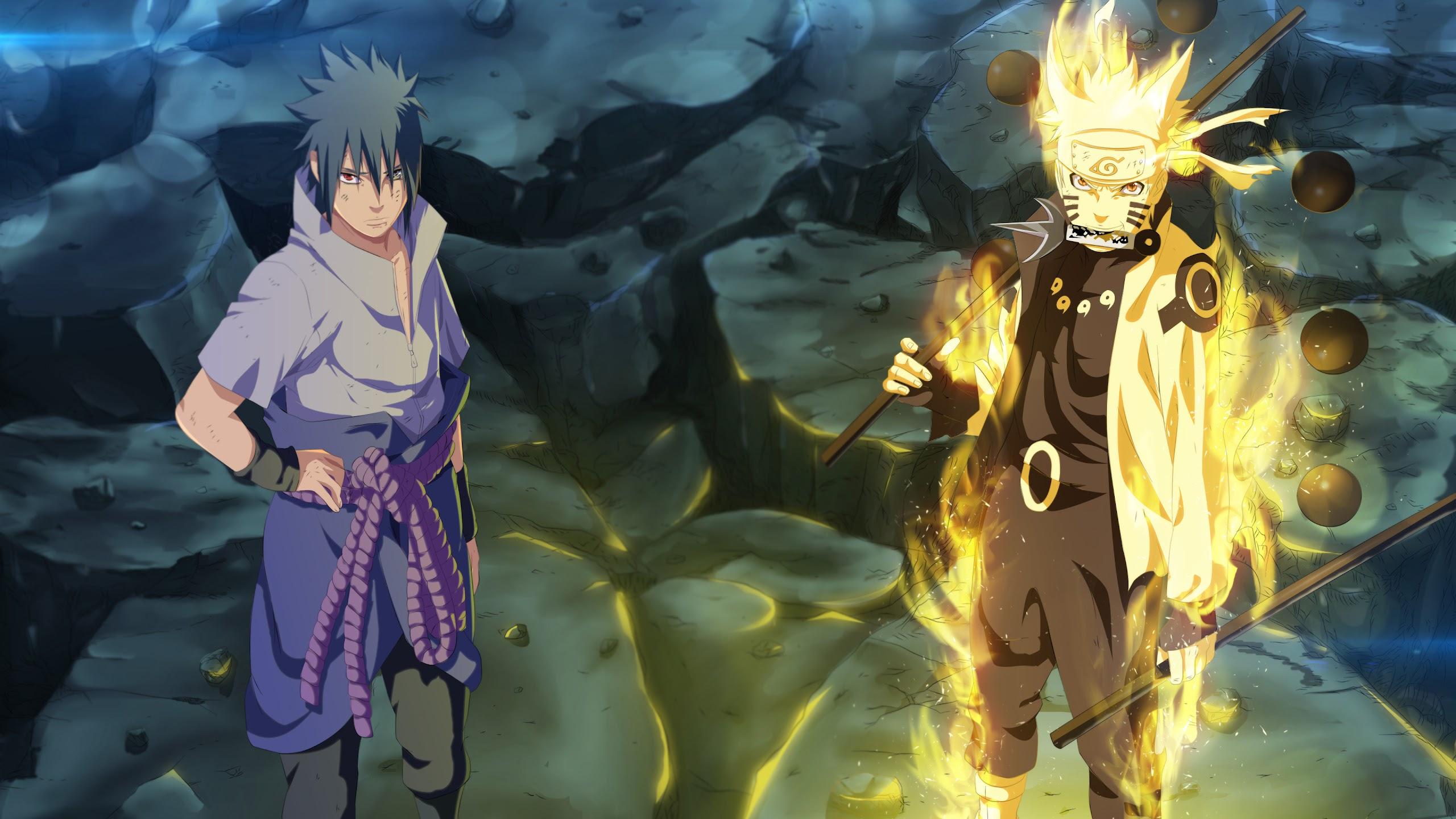 Naruto, Sasuke, 4K, #56 Wallpaper