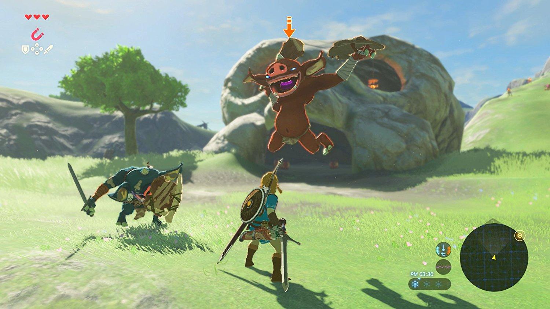 Neue Screenshots Zu Zelda Breath Of The Wild Zeigen Hyrule Map Und