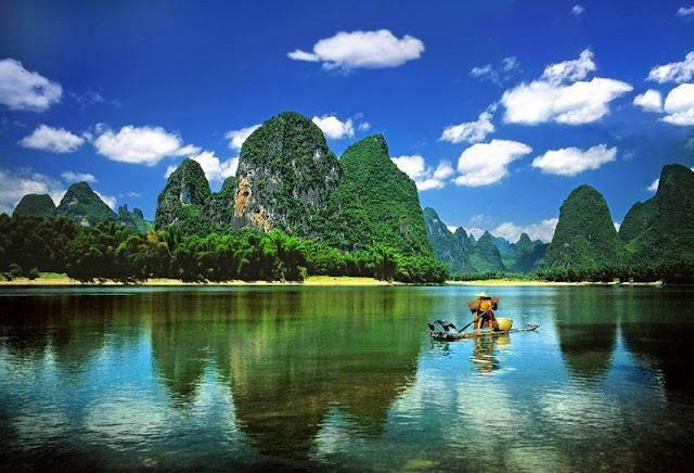 vé máy bay đi Trung Quốc - Cảnh đẹp ở Quế Lâm