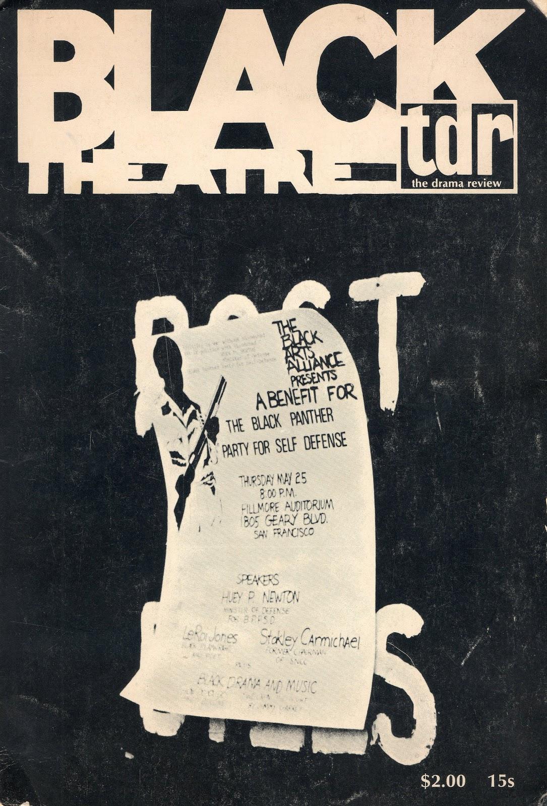 The Black Panther Party, Black Drama, & Black Arts Poets