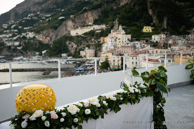 Elopement ceremony in Amalfi