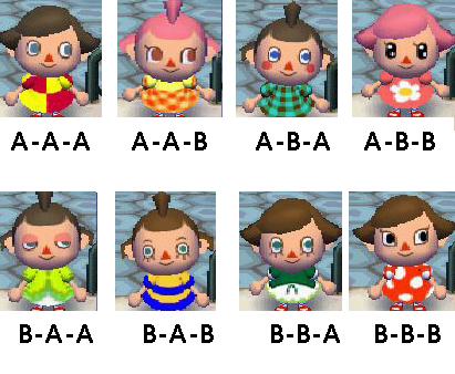 Bonito y sencillo peinados animal crossing new leaf Fotos de cortes de pelo tendencias - Animal Crossing: Caras de tu personaje