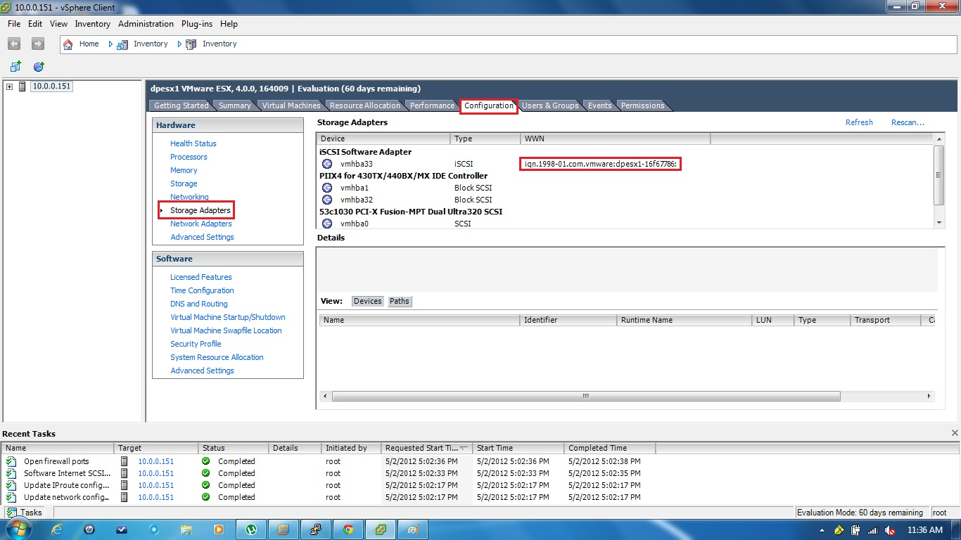 Remote Infrastructure Management: How to add the NetApp LUN