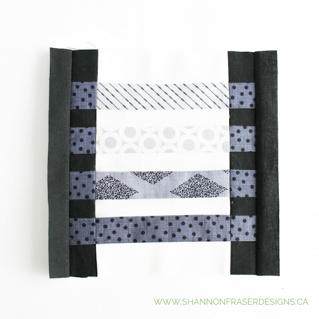 February Quilt Blocks | 52 Weeks with the Quilter's Planner | Shannon Fraser Designs | Modern Quilting | Alchemy Collection by Camelot Fabrics | Indigo Blues | Fabric Scrap Quilting