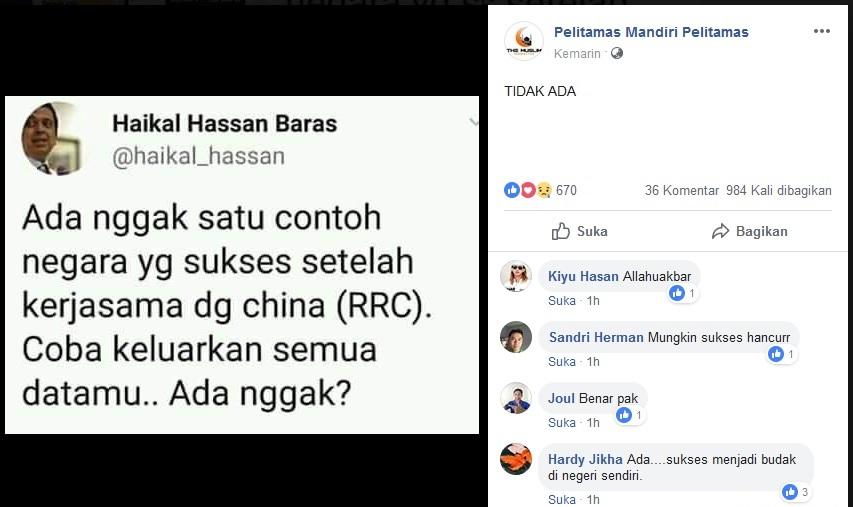 Pertanyaan Ustadz Haikal Hassan