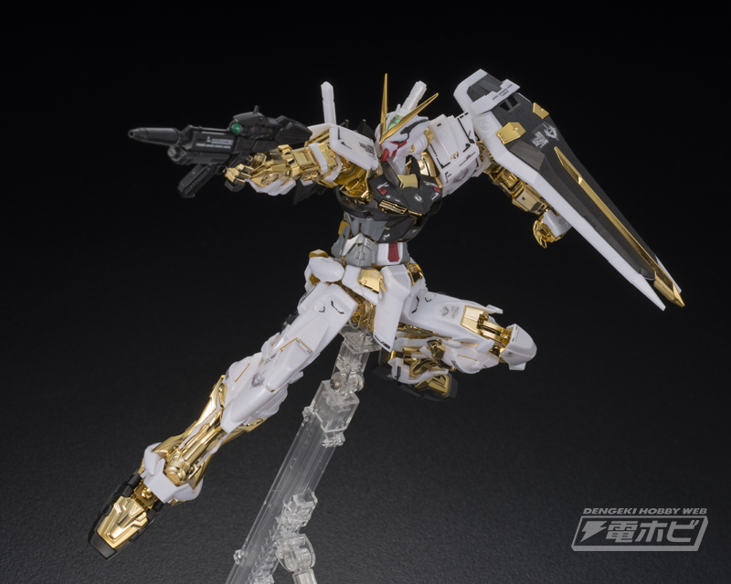 MG 1/100 Gundam Astray Gold Frame [Gold Coating] Sample Images by ...