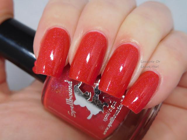 Spellbound Nails Rocket's Red Glare