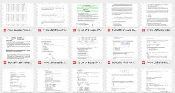 24 Paket Soal Latihan UN Tahun 2017 SMP/MTS Mata Pelajaran Bahasa Inggris PDF