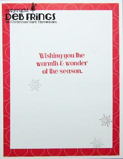 Merry Christmas inside - photo by Deborah Frings - Deborah's Gems