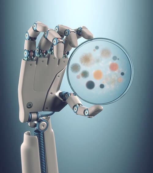 باحثون يتوصلون لـ«مخ بكتيري» يتحكم في الروبوتات