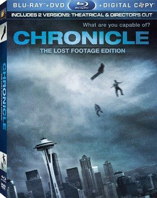 Chronicle 720p HD Español Latino Dual BRRip Descargar 2012