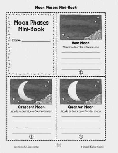 Picture of Moon Phases Freebie from Teachingisagift.blogspot.ca