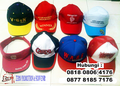 Jasa Pembuatan Topi Promosi / Supplier / Gathering / Seminar