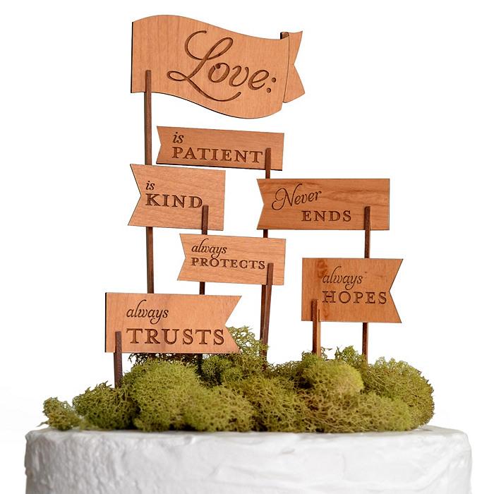 1 Corinthians 13 Wedding Invitations: Christian Themed Wedding