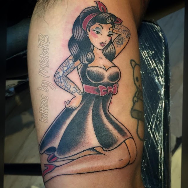 american traditional tattoo woman and ideas
