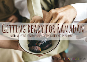 get ready for ramadan - includes a free planner