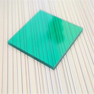 tấm lợp polycarbonate màu xanh lá dặc ruột green