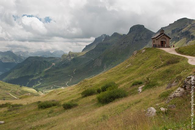 Passo di Pordoi Italia Dolomitas rutas