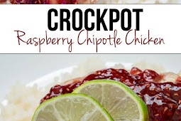 Crockpot Raspberry Chipotle Chicken