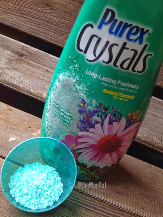 Review & Giveaway: Purex Crystals Laundry Enhancer | Ends 2/28
