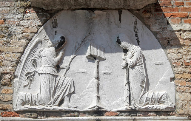 Relief of the Annunciation, Santa Maria degli Angeli, Murano.